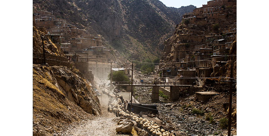 Kurdistan - the village of Palagan